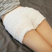 修身纯白色好看瑜伽夏季裤女2017新款可外穿柔软卷边2018新款