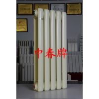 厂家供应壁厚1.5mm钢二柱散热器 钢二柱暖气片制造过程