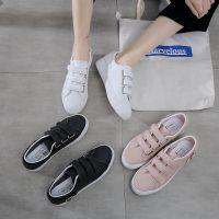 远步2018年新款春季韩版纯色平底休闲鞋低帮女学生小白鞋护士单鞋