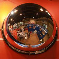 供应亚克力超市防盗镜道路安全凸面镜 定制各种街角广角镜安全镜