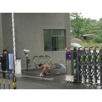 专业电动伸缩闸安装队伍 工厂不定尺道闸门加工