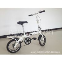 厂家直销儿童自行车折叠学生车16寸童车男女孩脚踏车带减震