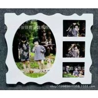 厂家批发烤漆蝴蝶圆16寸7寸经典组合相框儿童婚纱影楼相框