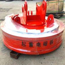 高频强磁电磁吸盘叉车挖掘机配套用起重吸盘价格