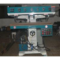供应元成创MZ54108气动立式多轴木工钻床 多头钻 立式钻 木工机械设备