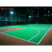 郴州小区篮球场地面改建/苏仙人民广场塑胶篮球场施工标准