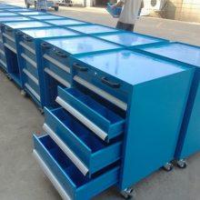 车间工具柜五抽屉双开门工具柜置物柜挂板式工具柜科移动工具柜