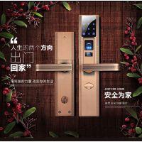厂家供应指纹锁密码刷卡电子锁智能门锁APP远程遥控锁