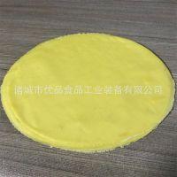 优品蛋饼成型机 诸城春卷皮/烤鸭饼生产设备