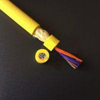 厂家供应优质正和机器人电缆2芯28AWG高强度发泡聚氨酯材料防海水零浮力漂浮电缆定制