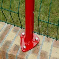 安斯杰小折弯护栏网 桃型柱护栏网 C型柱护栏 边坡防护网 镀锌丝浸塑