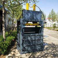 PP、PE废旧塑料薄膜液压打包机/棉纱布匹PLC自动控制操作打包机 /玉米秸秆自动套袋压包机厂家