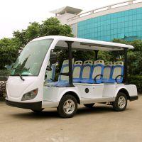 安步优品ABLQY083A白色豪华8座电动观光车看楼电瓶车景区观光电动车图片及报价