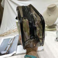 字母PVC男女式 透明洗漱包化妆包 旅行洗浴包 微商包邮 1617