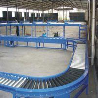 福建无动力滚筒输送机 碳钢喷塑纸箱动力辊筒输送机