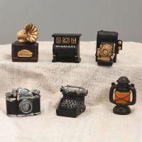 zakka杂货复古树脂工艺品摆件 咖啡厅家居装饰摆饰摄影背景道具