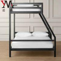 现代简约双层铁艺床上下铺成人床1.米双人床学生宿舍高低床定制