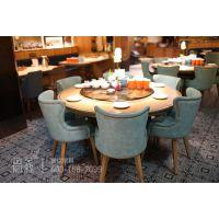 供应湘菜餐厅餐桌椅、卡座沙发,支持定制