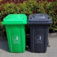 厂家批发塑料垃圾桶户外挂车垃圾桶