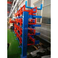 安徽普通悬臂货架和伸缩悬臂货架对比 现代专业放钢材设备