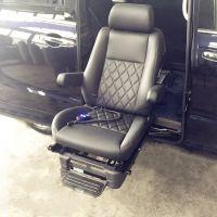 商务车GM8适用信德泰克新款可编程式残疾人旋转举升座椅