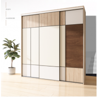 合肥全屋定制家具 实木生态板定制衣柜 平板门衣柜定制