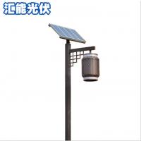 仿古太阳能路灯厂家直销庭院灯led太阳能一体化路灯雷达户外路灯