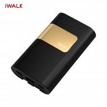 iwalk充电宝自带线支持PD、QC快充带隐形支架支持小电流充电移动电源