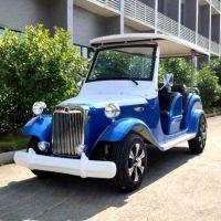 厂家直销AS-006 6人座蓝色四轮电动公园景区旅游观光车
