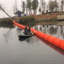 广州从化河道水草拦截浮桶 BT水上漂浮物拦污浮筒厂家
