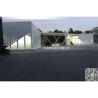 DPL-Pang Mei讲解宝马【BMW】展厅幕墙透光孔铝单板【9月新版设计】