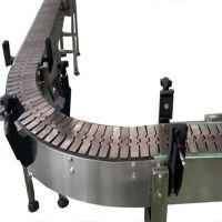 顺鑫厂家供应S-12-26流水线转弯链板输送机样式