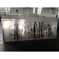 镂空铝板装饰工艺 梅花雕刻铝板 祥云图案雕刻铝屏风生产厂家