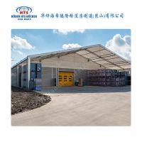 青岛铝合金篷房采用的是德国模块化技术 户外安全有保证