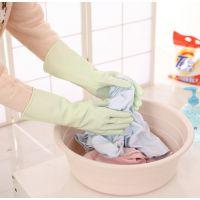 2361 薄款乳胶家用胶手套厨房胶皮清洁碗洗衣服橡胶防水家务手套K