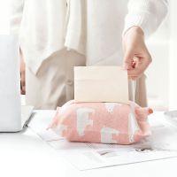 2636 创意布艺纸巾盒客厅家用车用抽纸套可爱卫生间餐巾纸盒