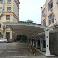 上海膜结构车棚致彩PVC涂层膜结构车棚多色系列膜材包设计安装