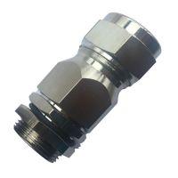 304不锈钢防水电缆接头M16 防爆填料函 金属格兰头密封夹紧固定头