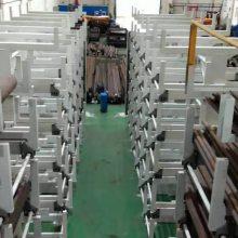 福州大型材存放架 自动升降伸缩悬臂式货架 管类存放架