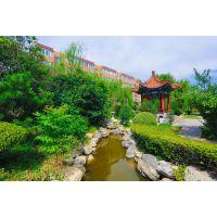 西安别墅庭院花园绿化施工设计