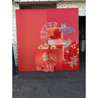 上海UV彩绘铝板动漫背景文化墙 UV打印图案幕墙铝单板 弧形铝单板生产商 找欧百得