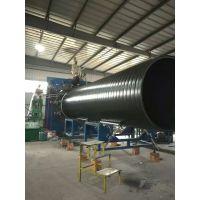 供应DN800四川HDPE中空壁塑钢缠绕管厂家新通川CJ/T329-201