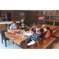 时尚实木餐桌 古典实木茶桌