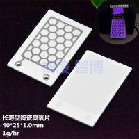 供应ZhiBo/智博 长寿命陶瓷臭氧片食品杀菌设备配件臭氧消毒机套件