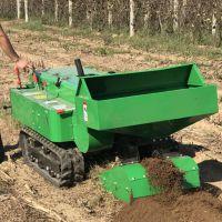 驰航履带式多功能施肥开沟机 五大功效田园管理机 开够施肥起垄回填机除草机