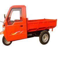 热销小型农用柴油三轮车 18马力后卸式三马子 工程建筑拉土拉沙用