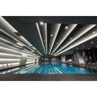 游泳馆装修设计方案及效果图