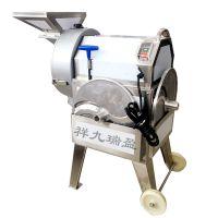 广州切菜机多功能商用土豆冬瓜切丁机 切片切丝一体机厨房设备