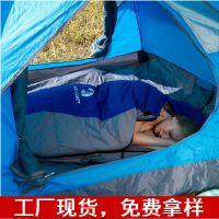 【厂家直供】SAFEBET户外旅行野营保暖睡袋 户外加厚毛丝睡袋