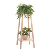 花架子绿箩卧室木头木质花盆架多层阳台客厅吊兰单个实木室内落地